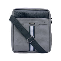 ESBEDA Solid Pattern Croco Stripe Slingbag 001005031,  grey