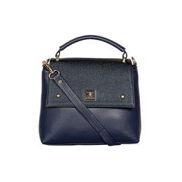 ESBEDA Solid Pattern Cinhetic Box Handbag For Women,  blue