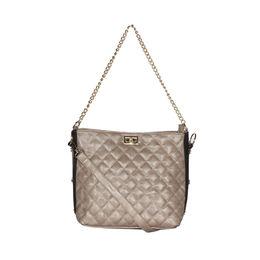 ESBEDA Solid Pattern Diamond Quilted Handbag For Women,  khaki