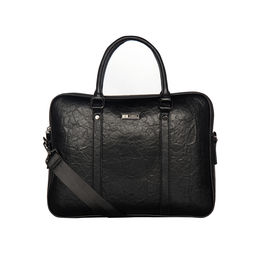 ESBEDA Solid Pattern Paperish Laptop Bag,  black