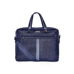 ESBEDA Regular Size Tactical Striped Laptopbag For Men,  blue