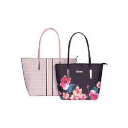 ESBEDA Printed Pattern Graphic Combo Handbag For Women,  pink