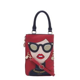 ESBEDA LADIES SLING BAG 1008,  red