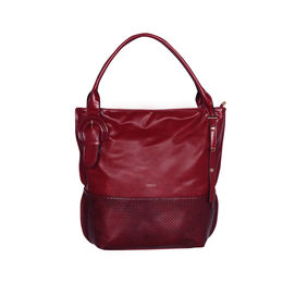 ESBEDA Solid Pattern Birkin Solid Hobobag For Women,  maroon