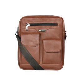 ESBEDA Solid Camaro Crossbody Sling bag For Men,  tan