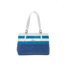 ESBEDA LADIES HANDBAG SH060417-1,  d-blue-l-blue-white