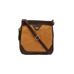ESBEDA LADIES SLING BAG AS070417-1,  l tan-d brown