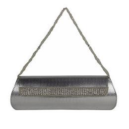 ESBEDA CLUTCH - 8151001,  silver, one size