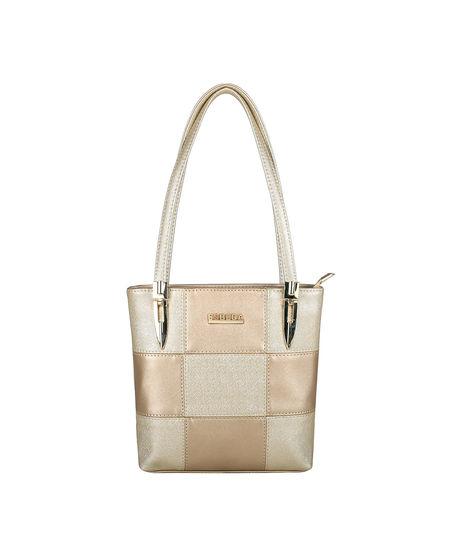 ESBEDA Medium Size Chunky Glitter Handbag For Womens-1005680,  gold