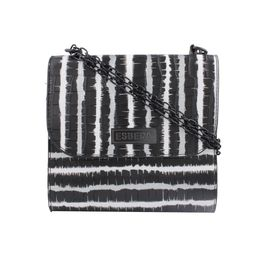 ESBEDA LADIES SLING BAG EB-001,  black white line