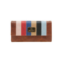 ESBEDA LADIES WALLET UM280717,  tan-multi
