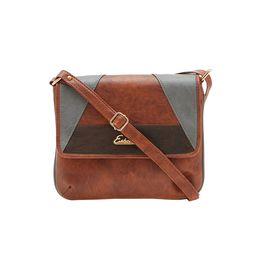 ESBEDA SLING BAG AZ17062017,  tan-grey-d-brown