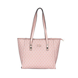 ESBEDA Printed Pattern Signature Logo handbag For Women,  pink