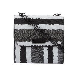 ESBEDA LADIES SLING BAG EB-001,  black grey snake