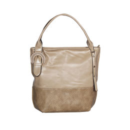 ESBEDA Solid Pattern Birkin Solid Hobobag For Women,  beige