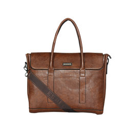 ESBEDA Regular Size Metropolitan Laptop bag For Men,  tan