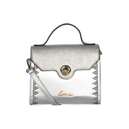 ESBEDA Solid Pattern Fontanelli Glitter handbag For Womens,  silver