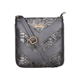 ESBEDA Medium Size Chunky Glitter Slingbag For Womens-A00100042-41,  grey