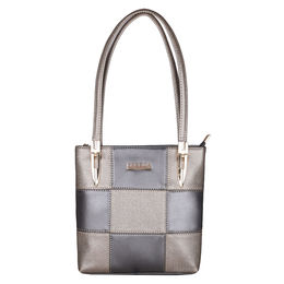 ESBEDA Medium Size Chunky Glitter Handbag For Womens-1005685,  grey