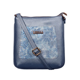 ESBEDA Medium Size Shiny Glitter Slingbag For Womens-A00100042-44,  blue