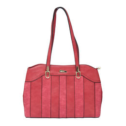 ESBEDA LADIES HANDBAG 18642,  red