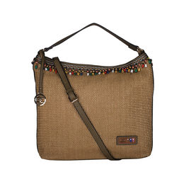 ESBEDA BIG Size Jute Tote Bag For Women,  green