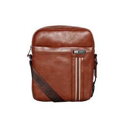 ESBEDA Tan Color PU Solid Crossbody Sling Bag For Mens, tan