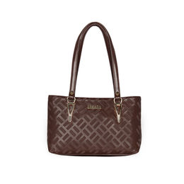 ESBEDA Embossed Textured Handbag For Women,  coffee