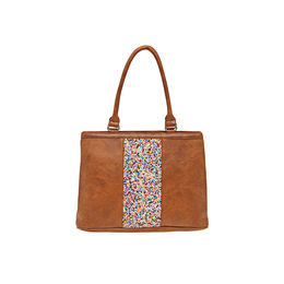 ESBEDA LADIES HANDBAG SHA3008201,  tan