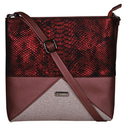 ESBEDA LADIES SLINGBAG A00100049-18,  maroon