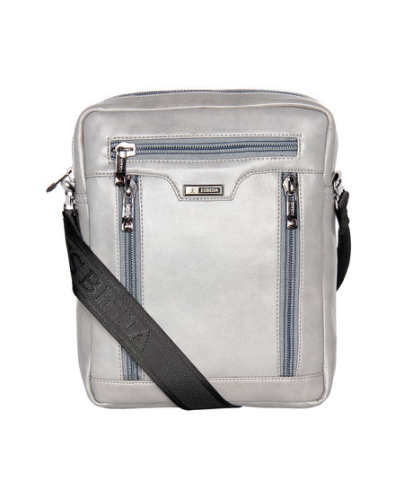 ESBEDA Solid Pattern Rodeo Crossbody Sling bag For Mens,  grey