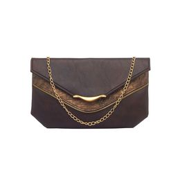ESBEDA LADIES CLUTCH AB10122017,  d brown