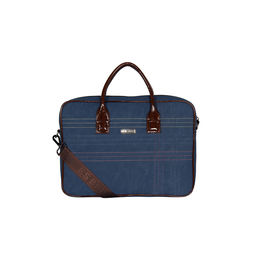 ESBEDA Stitch Line Laptop bag For mens & women,  blue