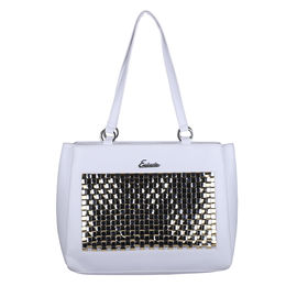 Esbeda Chatai Handbag 3635,  white