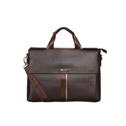 ESBEDA Double Sided Briefcase For Mens and Women,  brown
