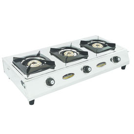 Sunshine Titanic Three Burner Stainless Steel Gas Stove