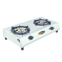 Sunshine OS-2 Double Burner Stainless Steel Gas Stove, lpg, manual