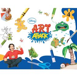 Art Attack- Art And Craft- Grade 4 (Paperback)
