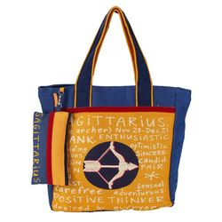 The Jute Shop Enthusiastic Sagittarius Bag