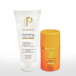 PERENNE BROAD SPECTRUM SPF 50, 50GM+ PERENNE HYDRATING FACE WASH 100ML
