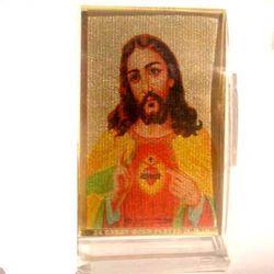 (GHASITARAM) Acrylic Jesus Car Stand