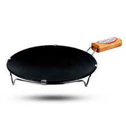 MittiCool NON-STICK DOSA TAWA (WITH HANDLE), 3, 9 inch