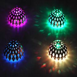 (GHASITARAM) Set of 4 Golden Metal Lights