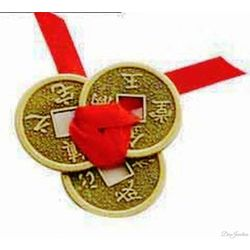 (DECO JUNCTION) Fengshui Coin, brass, copper, 2x2x2