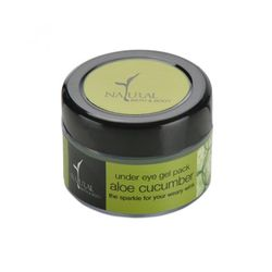 NATURAL BATH & BODY Aloe Cucumber Under-Eye Gel Pack