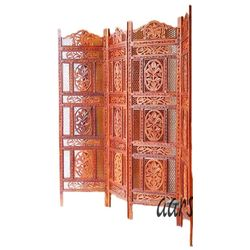 Aarsun Woods: WOODEN PARTITION SCREEN 52, wood, brown, 35kgs