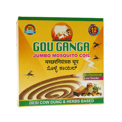 Gou Ganga Jumbo Mosquito Coil, 10 pcs  8 hours