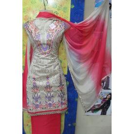 Mamta - 1127MT19WEKE - Kora Silk Suit