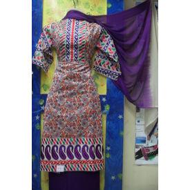Mamta - 1126MT11MSKE - Kora Silk Suit