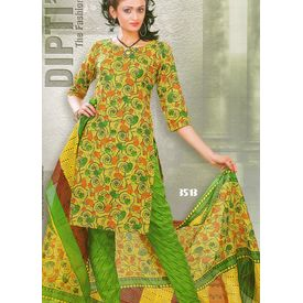 DIPTI - 1011DI13MITE- COTTON PRINTED SUIT